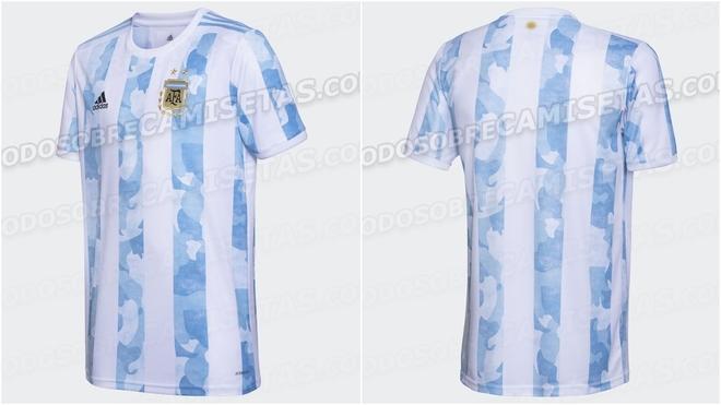 Se filtran las nuevas camisetas de la Selección Argentina