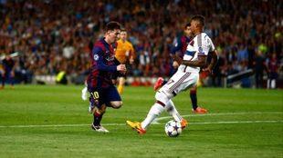 Boateng recuerda la jugada en la que fue ridiculizado por Messi