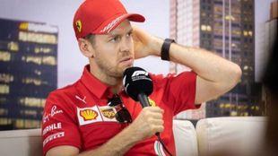 """Vettel: """"Mi pasión no ha bajado, pero empiezo a ver más..."""