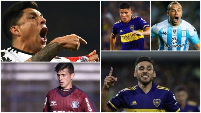 Los mejores mediocampistas de la Superliga 2020.