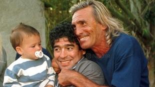El mensaje de Diego Maradona en apoyo a Hugo Gatti