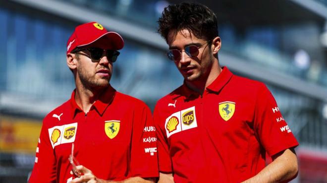 Leclerc cree que Vettel no pagará la presión de tener que renovar