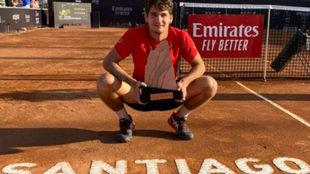 Thiago Seyboth Wild, primer positivo por coronavirus en el tenis