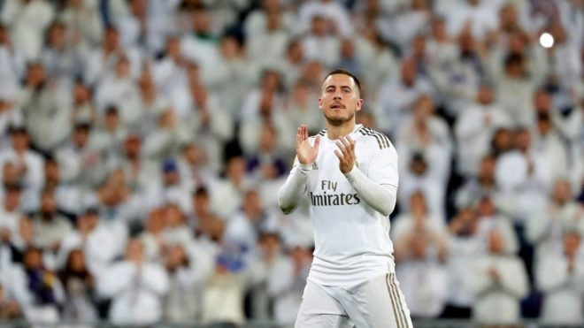 """Hazard hace autocrítica: """"Mi primera temporada en el Real Madrid es..."""