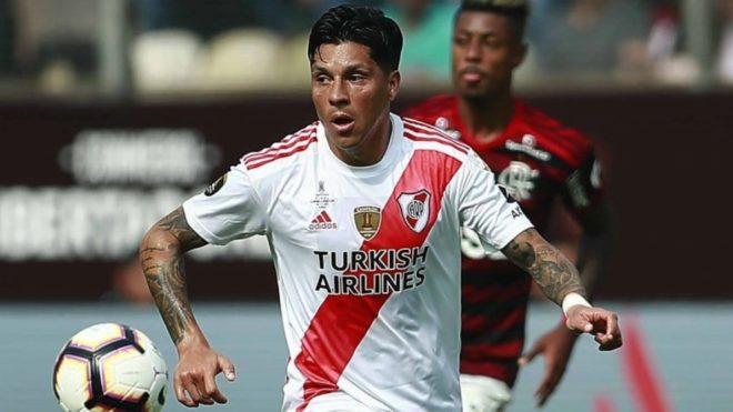 "Enzo Pérez: ""Contra Flamengo se perdió siendo River, yendo para..."