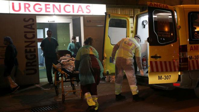 España registra 655 muertes en el último día.