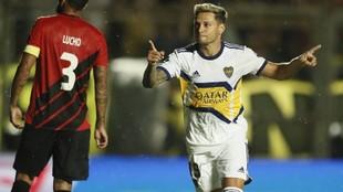 """Mauro Zárate: """"Me encantaría seguir en Boca"""""""