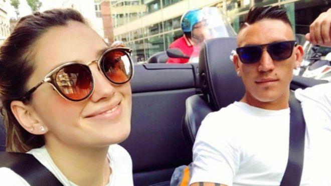 Murió la novia de Ricardo Centurión en un accidente de auto