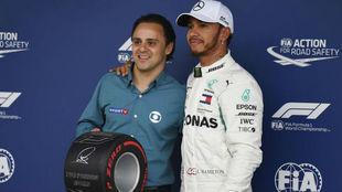 Massa prefiere a Ricciardo antes que Hamilton en Ferrari