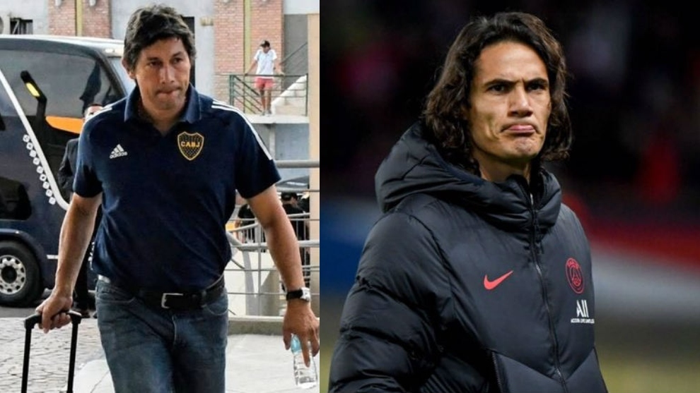 Edinson Cavani se acerca a Boca Juniors