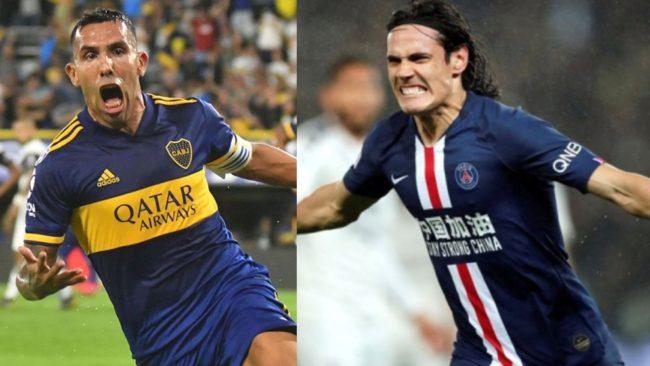 Carlitos y Cavani... ¿juntos?