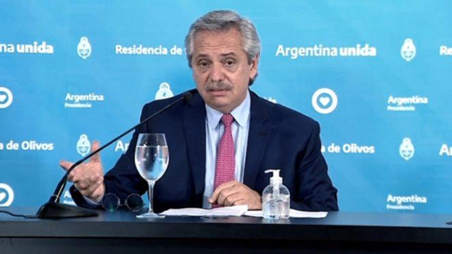 Presidente argentino aplica frase de Gorosito en lucha contra pandemia