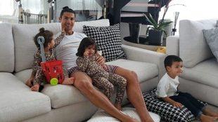 """Cristiano Ronaldo: """"Quédate en casa y ayudemos a los..."""