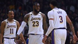 Los Lakers completan la cuarentena y ya no tienen jugadores...