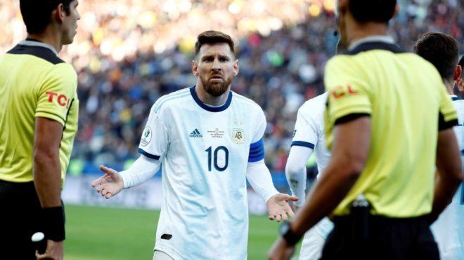 Domínguez: el enojo de Messi con Conmebol y su relación con Tapia