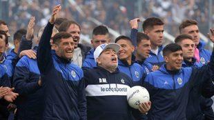 """""""Maradona me dejó sin nada, no tiene los códigos del..."""
