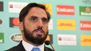 Agustín Pichot va por la presidencia de World Rugby