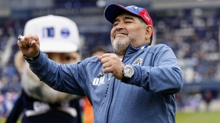 El Gimnasia de Maradona se salvó del descenso