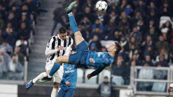 Cristiano y su golazo.