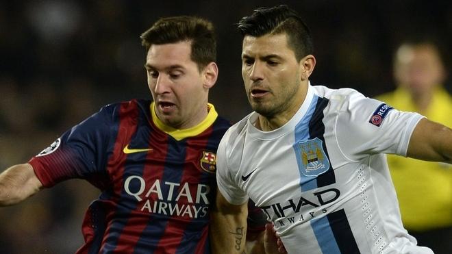 Kun Agüero sorprende y revela que Leo Messi pudo irse del Barcelona   MARCA Claro Argentina