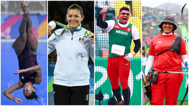 Paola Espinosa, María del Rosario Espinoza, Diego del Real y...