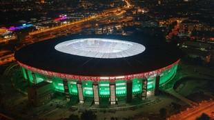 El impresionante Puskas Stadium.
