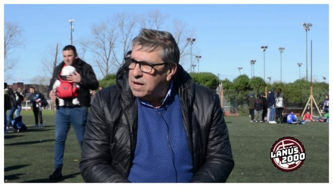 Carlos Barbagallo, directivo de Lanús.
