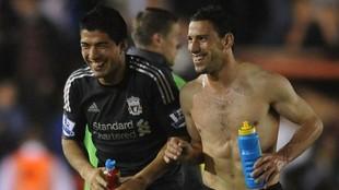 Dos temporadas compartieron en Anfield.