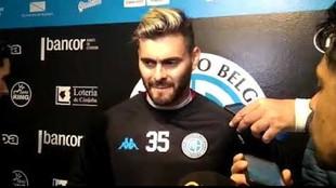 Franco, de 28 años, llegó a Belgrano en agosto pasado.