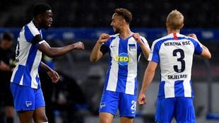 El Hertha aplasta al Unión y se queda con el clásico de Berlín