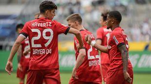 Otro doblete de Havertz mete al Leverkusen en puestos Champions