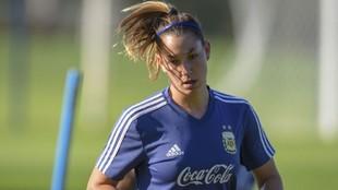 Aldana Cometti, una de las referentes de la Selección Argentina