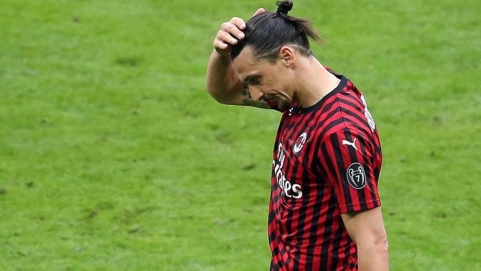 Ibrahimovic podría haberse roto el tendón de Aquiles según Sky Italia