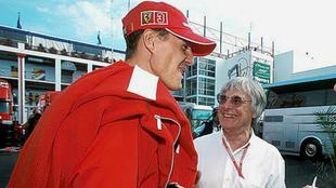 """Ecclestone: """"Schumacher me dijo: 'Yo dirijo Ferrari' y por eso..."""