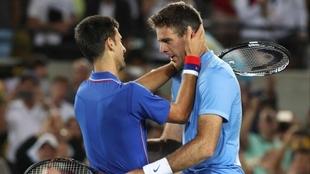 El día que Del Potro hizo llorar a Djokovic