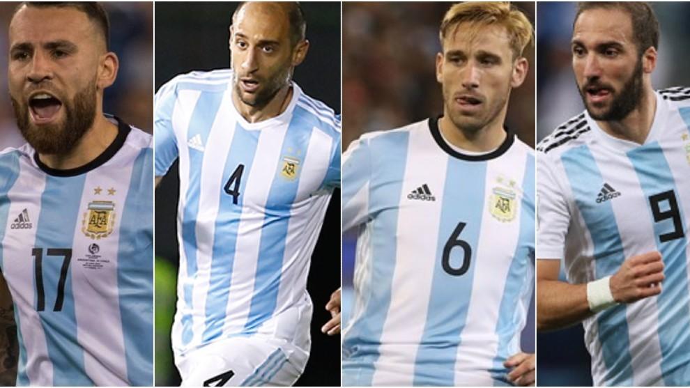 De los cuatro, Zabaleta y Biglia son quienes podrían caer primero.