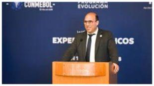 Gonzalo Belloso, de la Conmebol.