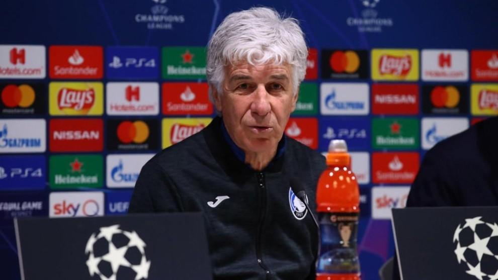 Gianpiero Gasperini, técnico de la Atalanta.