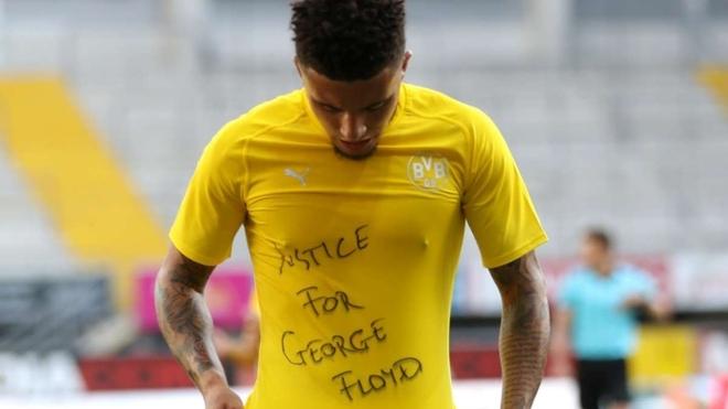 Jadon Sancho exige justicia por el asesinato de George Floyd