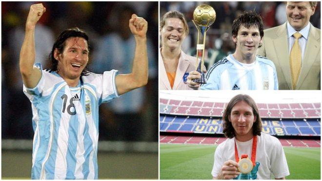 El 'maratón' futbolístico de Messi