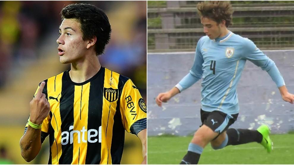 Pellistri, en Peñarol, Milans, en Juventud.