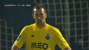 El blooper de Agustin Marchesín en la derrota del Porto