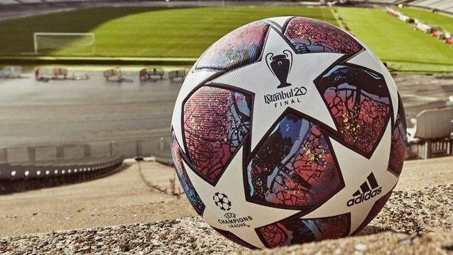 La pelota de la final de la Champions.