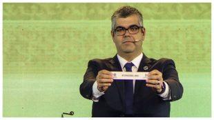 Fred Nantes, director de competiciones de la Conmebol, durante un...