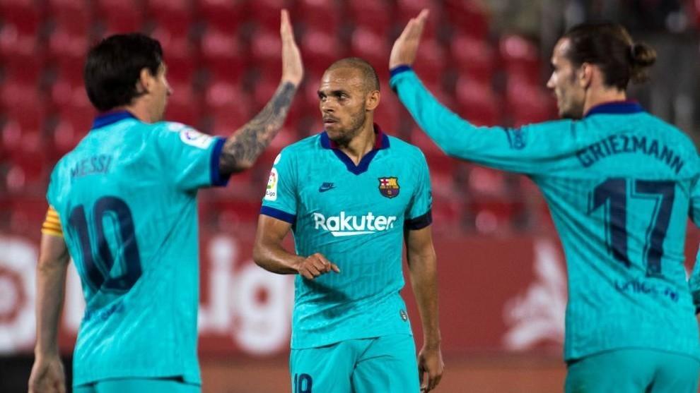 Mallorca - Barcelona: Messi asiste a Braithwaite para que se ...