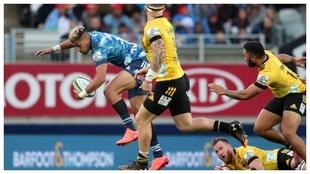 Los Blues vencieron a Hurricanes en el Super Rugby