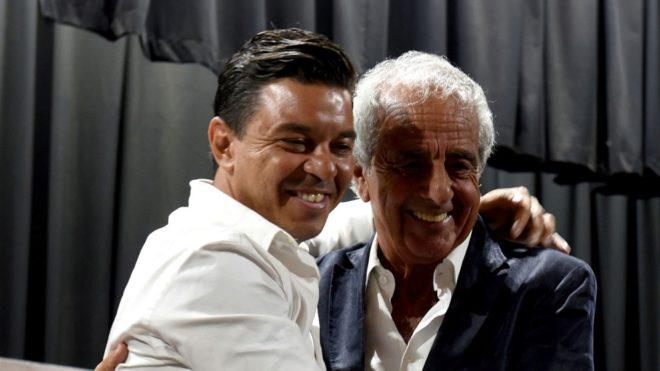 Rodolfo D'Onofrio y Marcelo Gallardo River