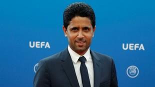 Al Khelafi, presidente y dueño del PSG.