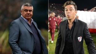 Claudio Tapia, presidente de AFA y Marcelo Gallardo, técnico de...