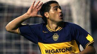 Riquelme, la inmensa figura de la Copa 2007.